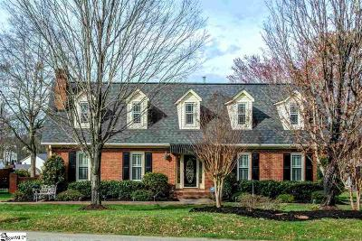 Mauldin Single Family Home For Sale: 201 Pinecrest