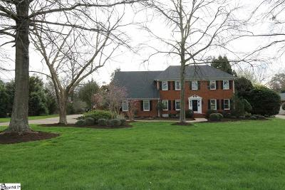 Simpsonville Single Family Home Contingency Contract: 109 Woodbridge
