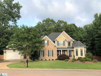 Easley Single Family Home For Sale: 6 Avery