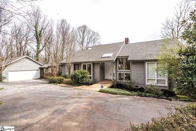 Greenville County Single Family Home For Sale: 219 Lake Circle