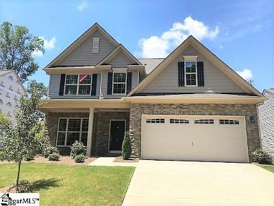Greenville Single Family Home For Sale: 9 Talisker #Lot 59