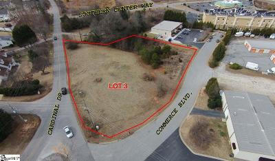 Easley Residential Lots & Land For Sale: Commerce