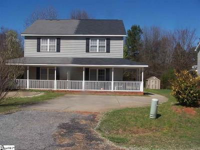 Anderson Single Family Home For Sale: 117-B Summerwalk