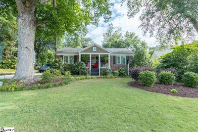 Greenville Single Family Home For Sale: 217 Aberdeen