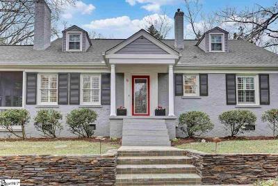 Greenville Single Family Home For Sale: 78 Fernwood