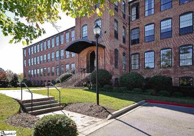 Greenville Condo/Townhouse For Sale: 400 Mills #Unit 125