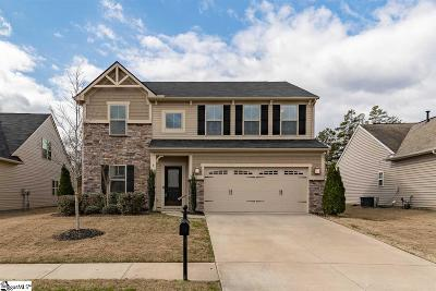 Simpsonville Single Family Home For Sale: 9 Chapel Hill