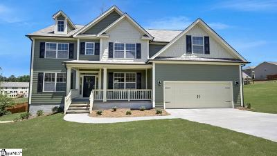 Duncan Single Family Home For Sale: 386 Tiger's Eye #lot 97