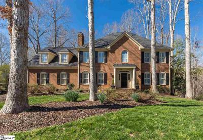 Simpsonville Single Family Home Contingency Contract: 221 River Walk