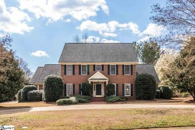 Spartanburg Single Family Home For Sale: 2 Cateswood