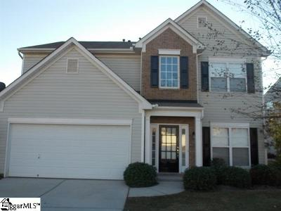 Simpsonville Rental For Rent: 4 Plum Orchard