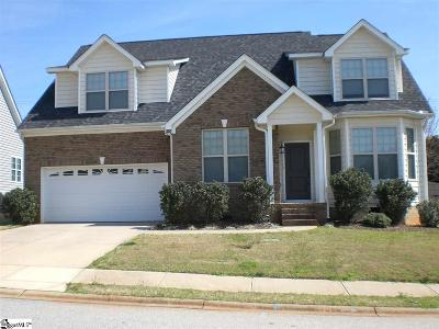 Greer Single Family Home For Sale: 5 Aldgate