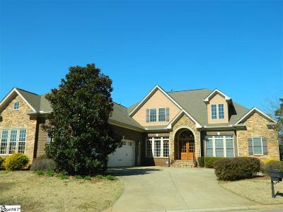 Simpsonville Single Family Home For Sale: 215 Asheton Lakes