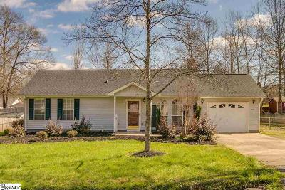 Easley Single Family Home Contingency Contract: 107 Teal