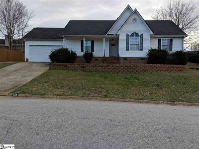 Simpsonville Single Family Home For Sale: 115 Hatteras