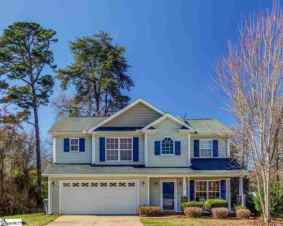 Spartanburg Single Family Home Contingency Contract: 104 Graymouth