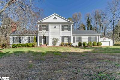 Greenville Single Family Home For Sale: 1108 Roe Ford