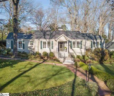 Greenville Single Family Home For Sale: 105 Sylvan