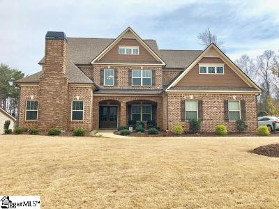Fountain Inn Single Family Home For Sale: 10 Knotty Pine