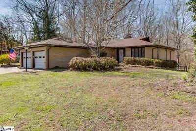 Piedmont Single Family Home For Sale: 400 Hurricane Creek