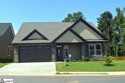 Simpsonville SC Single Family Home For Sale: $253,900