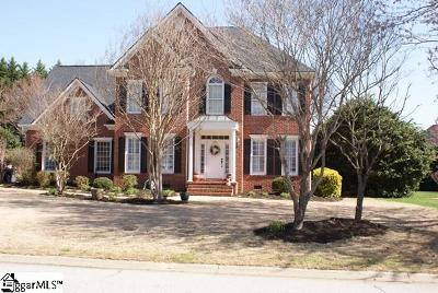 Simpsonville Single Family Home Contingency Contract: 212 Huddersfield