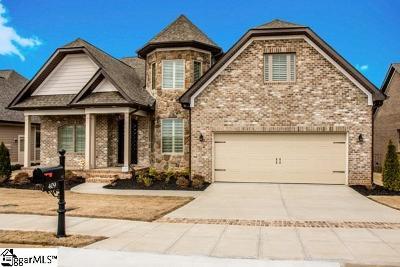 Simpsonville Single Family Home For Sale: 409 Santa Cruz