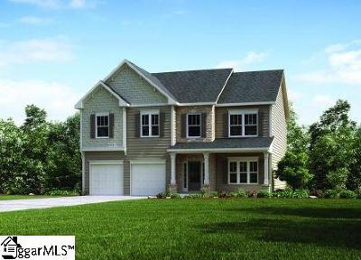 Simpsonville Single Family Home For Sale: 411 Windwood