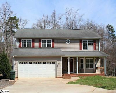 Greer Single Family Home For Sale: 707 Timberwood