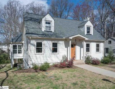 Greenville County Single Family Home Contingency Contract: 116 Sevier