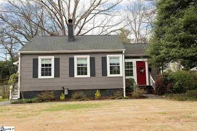 Greenville Single Family Home For Sale: 22 Druid