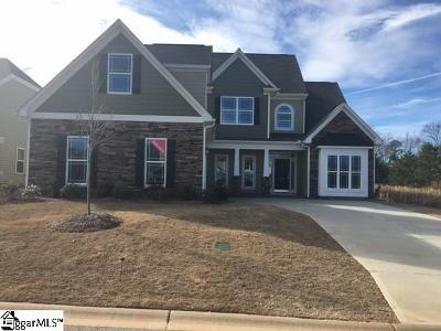 Simpsonville Single Family Home For Sale: 200 Hearthwood #LOT 03