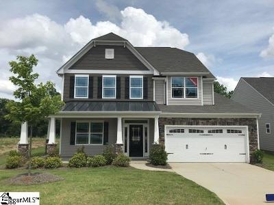 Simpsonville Single Family Home For Sale: 209 Hearthwood #Lot 37