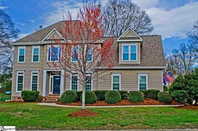 Simpsonville Single Family Home Contingency Contract: 2 Wagoncreek