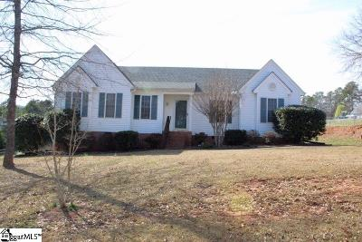 Easley Single Family Home For Sale: 125 Ascot
