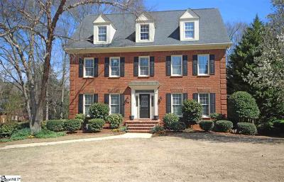 Simpsonville Single Family Home For Sale: 108 River Point