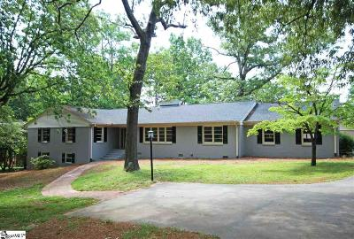 Greenville Single Family Home For Sale: 202 Sweetbriar
