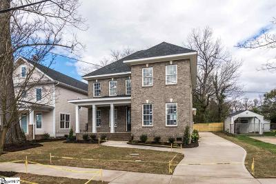 Greenville County Single Family Home For Sale: 7 James