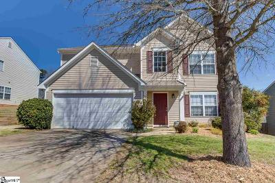 Greenville Single Family Home Contingency Contract: 204 Wild Dogwood