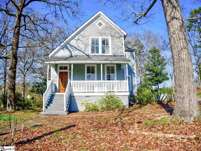 Pelzer Single Family Home Contingency Contract: 7 Hale