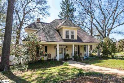 Greenville Single Family Home For Sale: 41 Buist