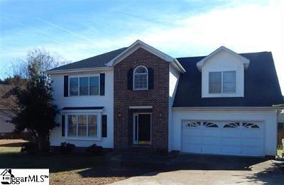 Simpsonville Single Family Home For Sale: 11 Irish Rose