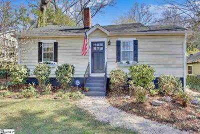 Greenville Single Family Home Contingency Contract: 5 Woodville