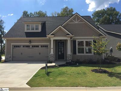 Simpsonville Single Family Home For Sale: 108 Sunlit