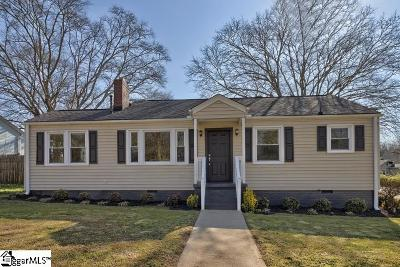 Greenville Single Family Home For Sale: 200 Tindal