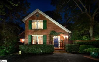 Greenville Country Club Single Family Home For Sale: 4 Byrd