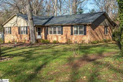 Easley Single Family Home For Sale: 110 Woodhill