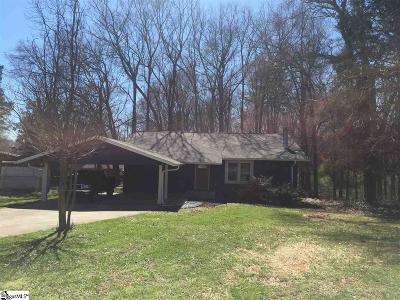 Simpsonville Single Family Home For Sale: 112 Tollgate