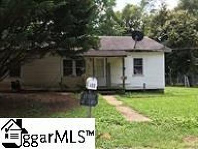Greenville County, Spartanburg County Single Family Home For Sale: 468 Bennett
