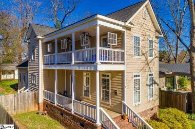 Greenville Single Family Home Contingency Contract: 8 Oakhurst